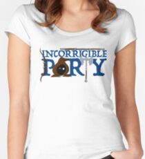 The Incorrigible Party Fitted Scoop T-Shirt