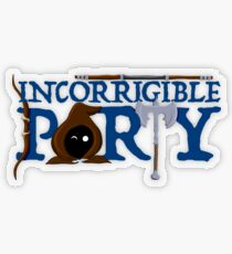 The Incorrigible Party Transparent Sticker