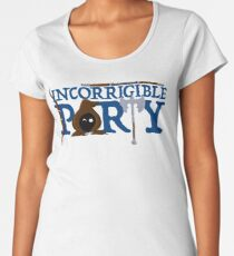 The Incorrigible Party Premium Scoop T-Shirt