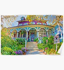 Victorian Cape May Home Poster