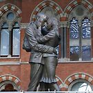 Love amongst the Arches of St Pancras by BronReid