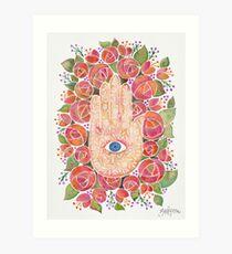 Mystical Hand Art Print
