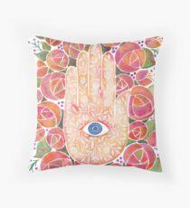 Mystical Hand Throw Pillow