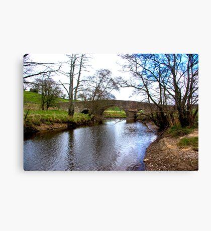 The Bridge at Semer Water - Yorks Dales. Canvas Print