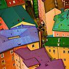 Rooftops - Austria by Kent DuFault