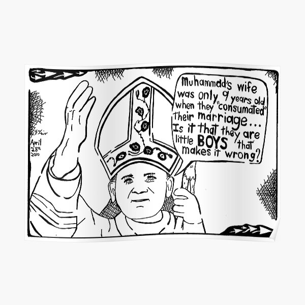 In the Pope's Defence Poster