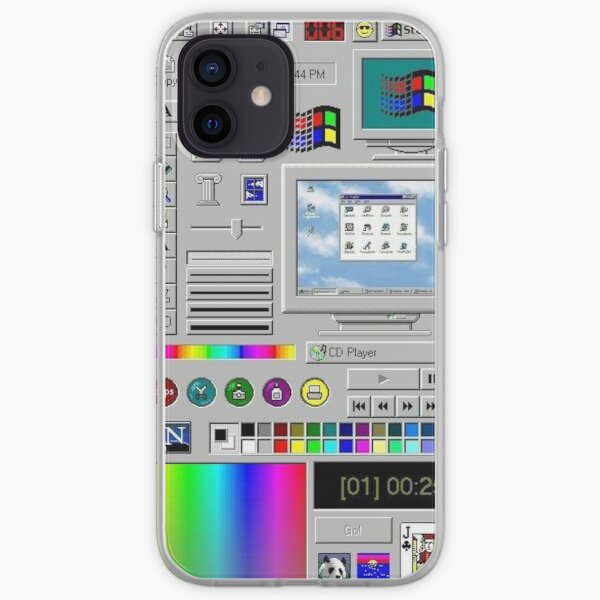 Windows 95 iPhone Soft Case