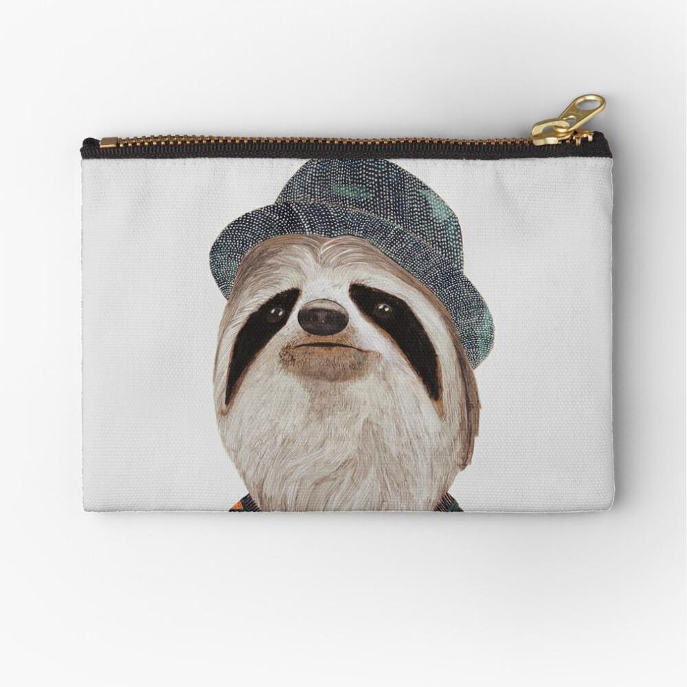 Sloth Zipper Pouch