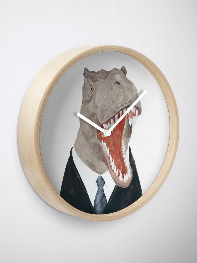 Alternative Ansicht von T-Rex Uhr