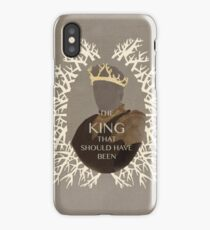 The King that should have been iPhone Case/Skin