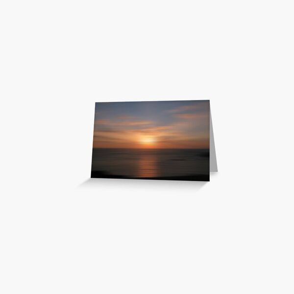 Winter Sunset 010 Greeting Card