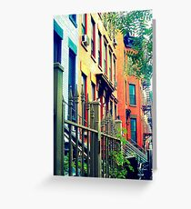 this is where we should be living. together. Greeting Card