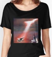 Marlin - Red Women's Relaxed Fit T-Shirt