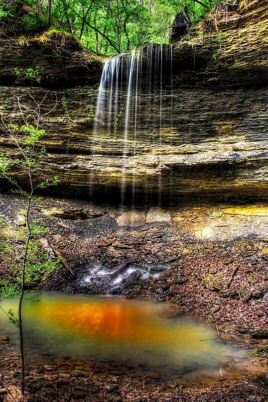 Quot Dockery Gap Falls Ozark National Forest Arkansas Quot By