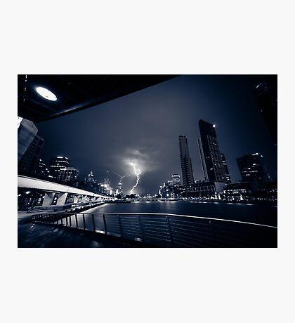 Melbourne Storm Photographic Print