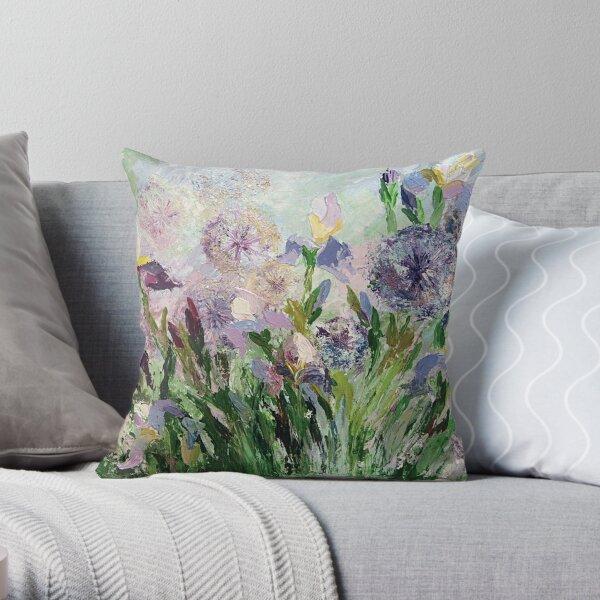 Iris - flower of the goddess Irida Throw Pillow