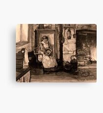 Miners Wife.... Canvas Print