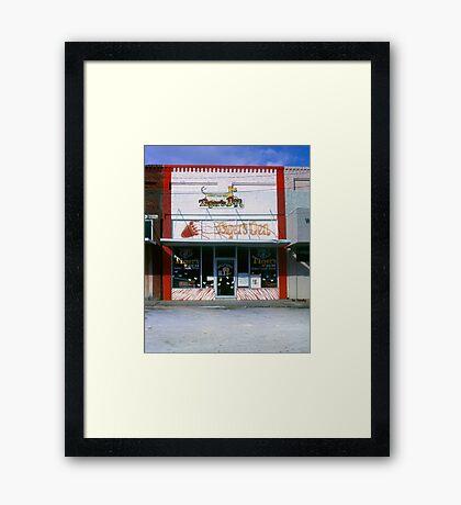 Tiger's Den ~ Watertown Tennessee Framed Print