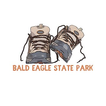 Bald Eagle State Park Hiking Boots by awkwarddesignco