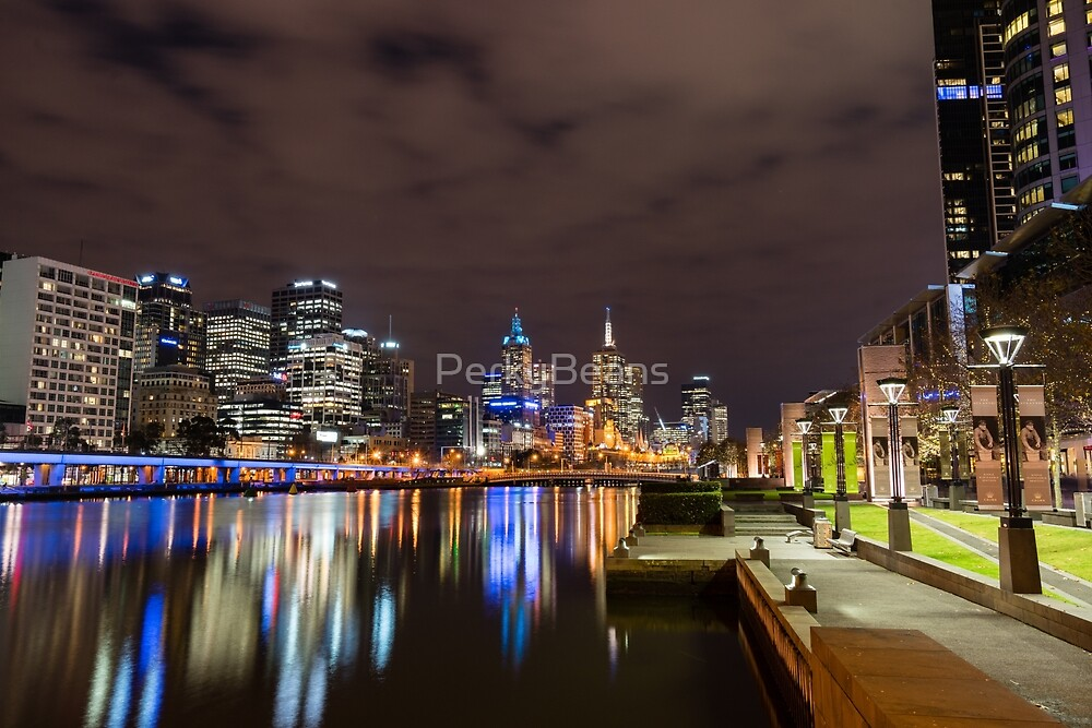 Melbourne city by PerkyBeans