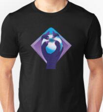 Purple taloned hand holding an orb symbol of the Malazan empire T-Shirt