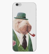Walross-Grün iPhone-Hülle & Cover