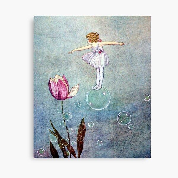 Bubble Fairy with Tulips - Ida Rentoul Outhwaite  Canvas Print