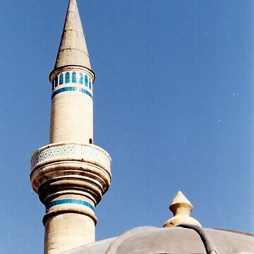 Minaret Girded in Turquoise by mtbearded1
