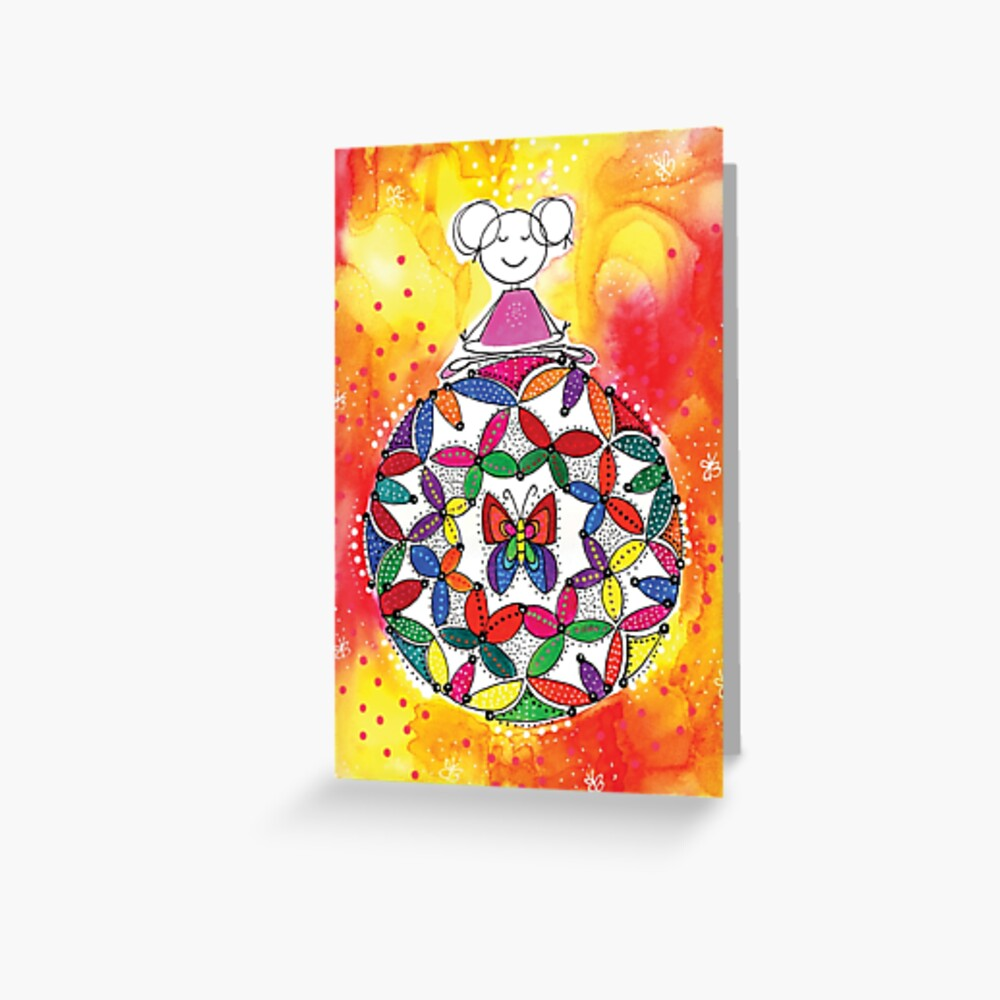DARE TO TRUST Greeting Card