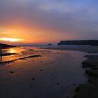 Cornwall: Last Light at Polzeath by Rob Parsons (AKA Just a Walker with a Camera)