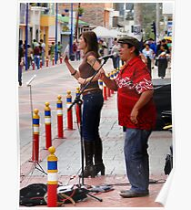 Leather Street Performers Poster
