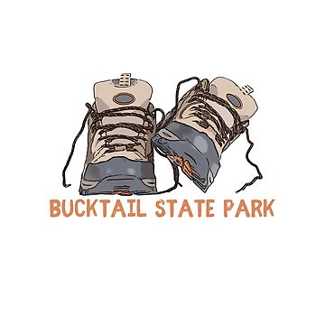 Bucktail State Park Hiking Boots by awkwarddesignco