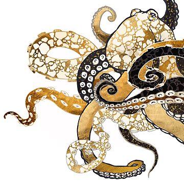 Metallic Octopus by spacefrogdesign