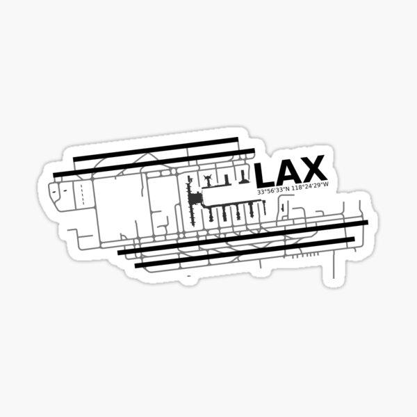 Los Angeles Airport Sticker