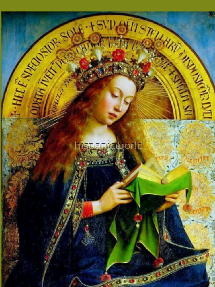 Our Lady Queen of Heaven Virgin Mary Crowning Virgen Maria 101 by hispanicworld