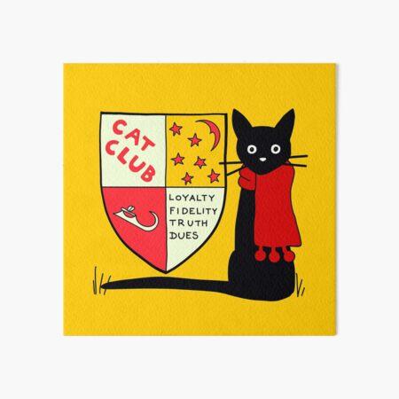 Jenny And The Cat Club Art Board Print