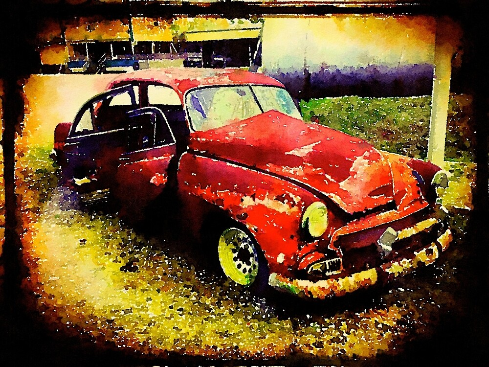 Old Car by Marc Bublitz