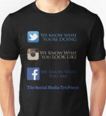 The Social Media Tri-Force T-Shirt