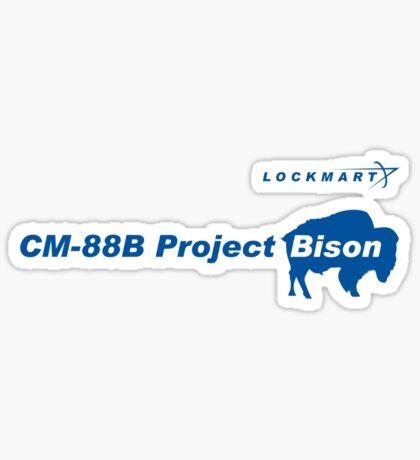 Lockmart Project Bison Sticker