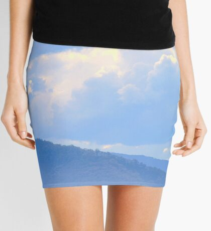 Tilbury Blue Mini Skirt
