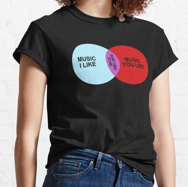 IT Crowd Music I Like T-Shirt Classic T-Shirt