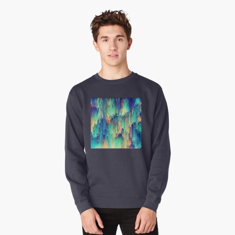 Abstraction Pullover Sweatshirt