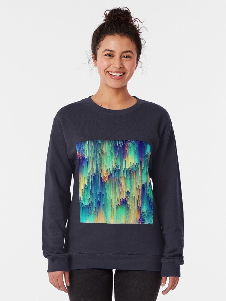 Alternate view of Abstraction Pullover Sweatshirt