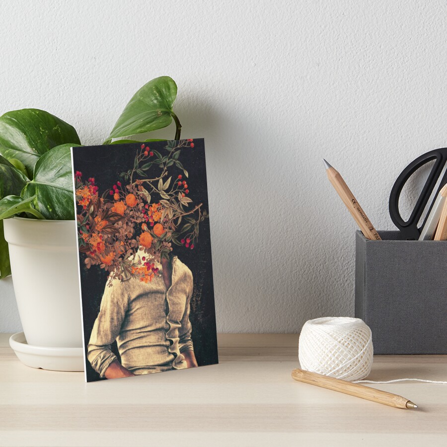 Roots Art Board Print