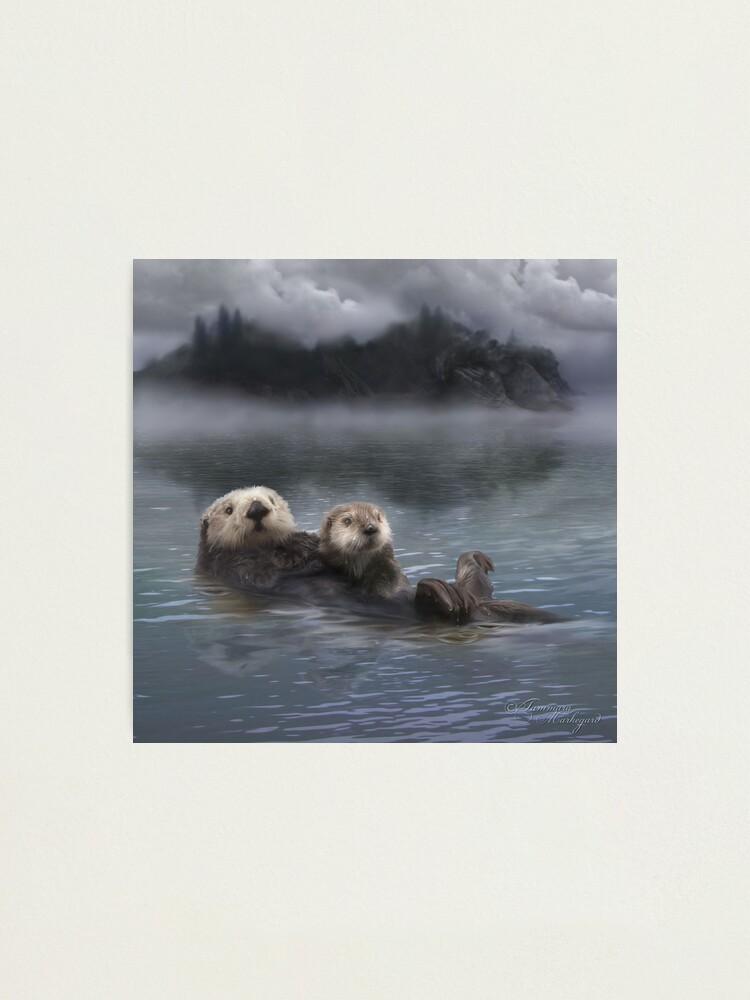 Alternate view of Spirit Otter Photographic Print