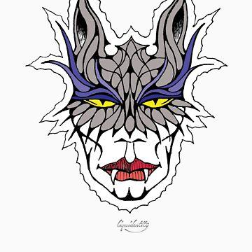 Vampire Cat Woman by liquidentity