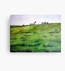 Sheep Sprinkles Metal Print