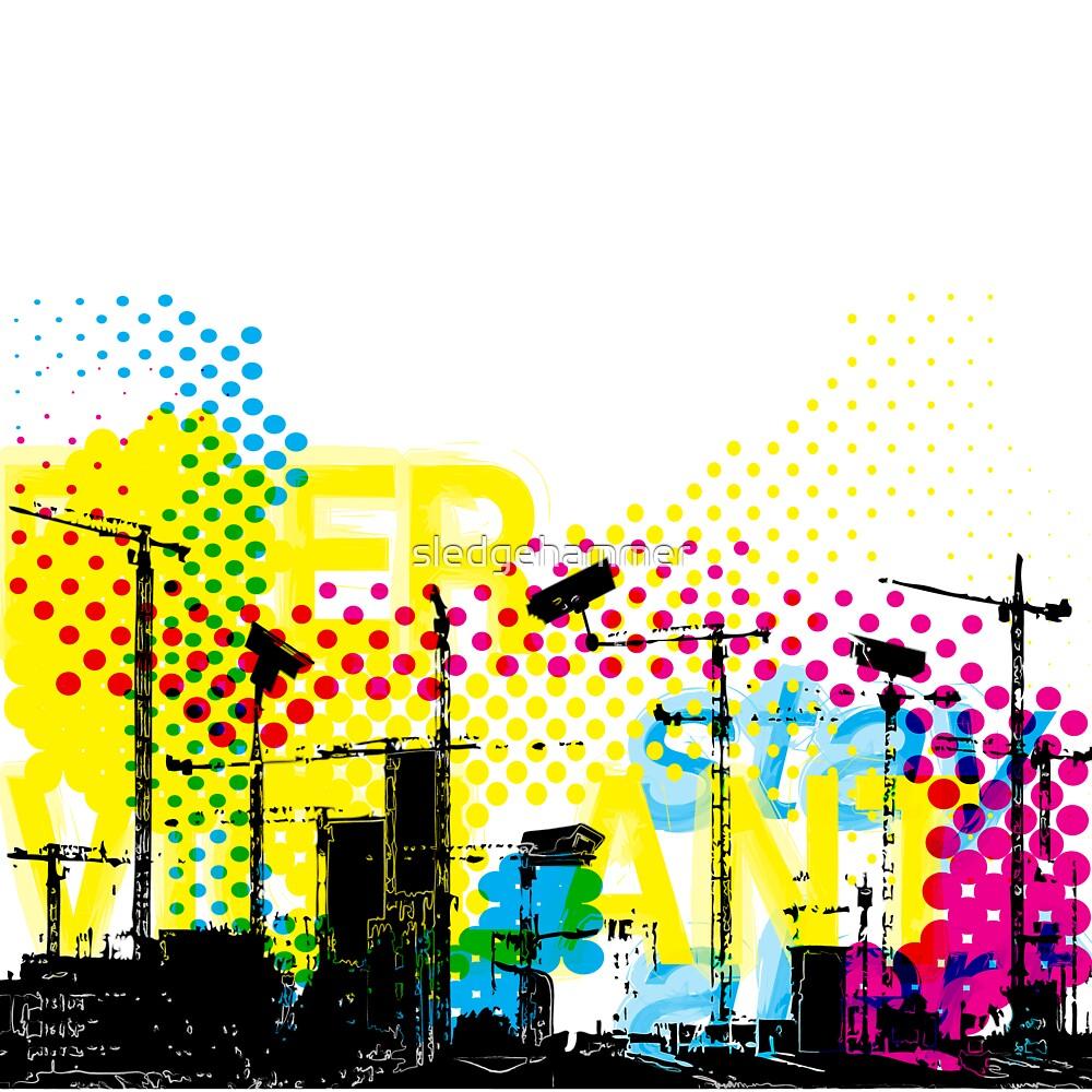 Urban Dystopian Future by sledgehammer