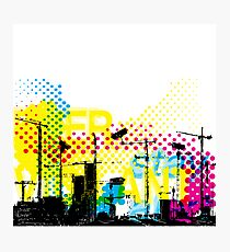 Urban Dystopian Future Photographic Print