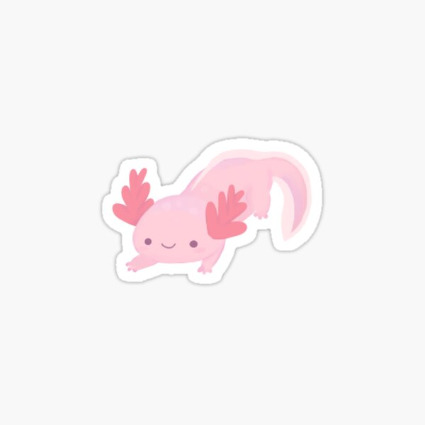 Tiny Axolotl Sticker